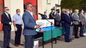 swieto strazakow w bolechowie fot. powiat poznanski  300x169 - Bolechowo: Sprzęt dla OSP i nagrody dla strażaków