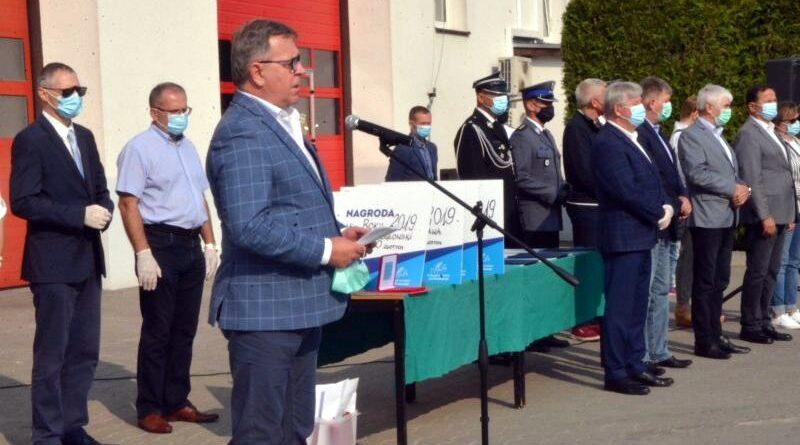 święto strażaków w Bolechowie fot. Powiat Poznański