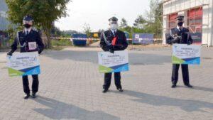 swieto strazakow w bolechowie fot. powiat poznanski 6 300x169 - Bolechowo: Sprzęt dla OSP i nagrody dla strażaków