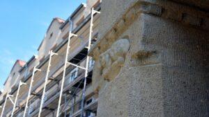 Poznań: Trwa remont szkoły przy Różanej