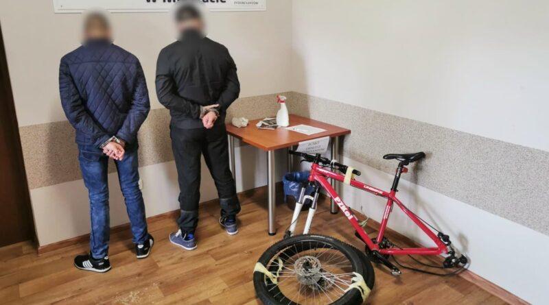 ukradziony rower fot. policja