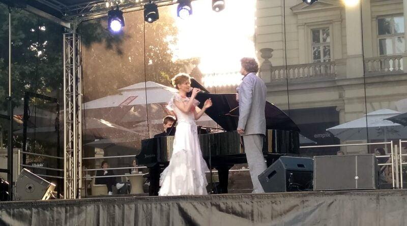 Virtuoso - koncert fragmentów spektaklu na placu Wolności