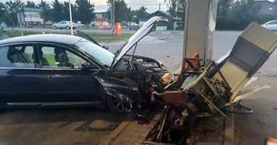 wypadek fot. OSP Biskupice