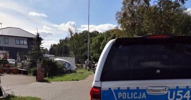wypadek fot. policja Międzychód