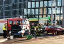 Poznań: Wypadek na Kaponierze! Zablokowany ruch tramwajów