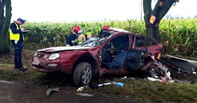 wypadek Szamotuły fot. policja