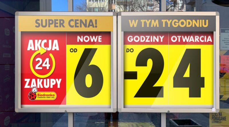 Akcja Biedronka24 fot. mat. pras.