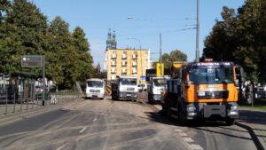 Poznań: Trwa usuwanie skutków awarii na Strzeleckiej