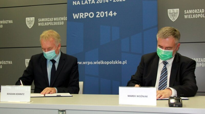 Bogdan Kemnitz i Marek Woźniak fot. UMWW