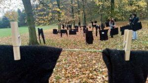 czarne pranie na cytadeli 5 300x169 - Poznań: W ramach Strajku Kobiet na Cytadeli zawisło... pranie