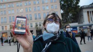 demonstracja fot. k. Adamska