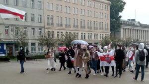 dla kobiet na bialorusi3 300x169 - Poznań: Marsz dla kobiet z Białorusi