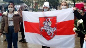 dla kobiet na bialorusi6 300x169 - Poznań: Marsz dla kobiet z Białorusi