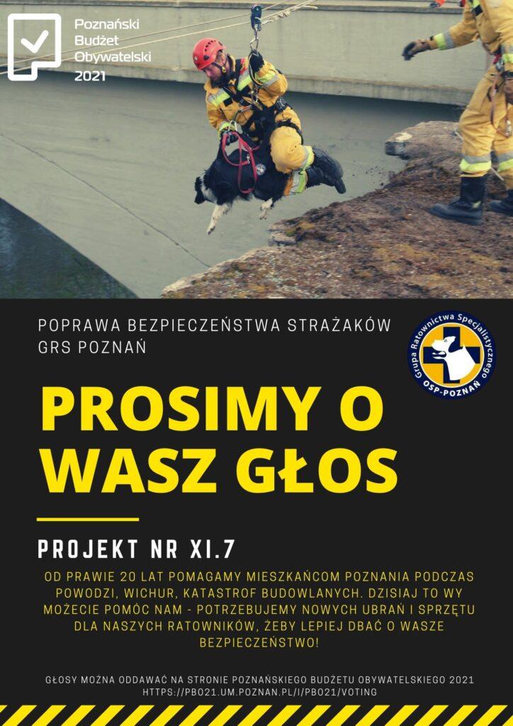 grs poznan 724x1024 - Poznań: Strażacy startują w... PBO