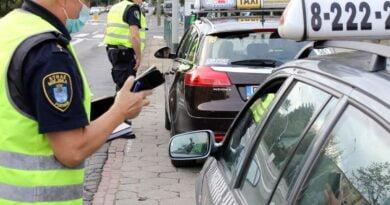 kontrole taksówek fot. SMMP