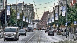 lech benfica fot. ump2 300x169 - Poznań: Miasto przystrojone flagami Lech Poznań wraca do Ligi Europy!
