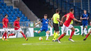 lech poznan benfica lizbona fot. p. szyszka lech poznan13 300x169 - Lech Poznań - Benfica Lizbona 2:4. Lech przegrał, ale po dobrym meczu