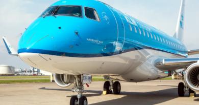 linie KLM fot. Port Lotniczy Poznań Ławica