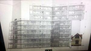 magazyn garbary i nowy blok fot. t. dworek 300x169 - Poznań: Burzenie zabytków, czyli patologia urbanistyczna na Starym Mieście