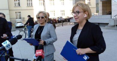 Małgorzata Janyska i Paulina Henning-Kloska na kontroli