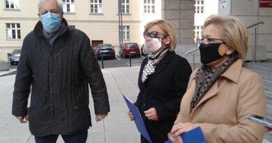 Małgorzata Janyska, Paulina Hennig-Kloska, Rafał Grupiński
