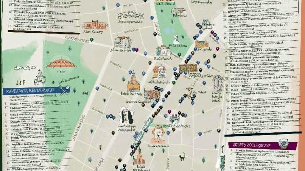mapa lazarza fot. ump 1024x576 - Poznań zaprasza na Łazarz, czyli specjalna mapa historii i przedsiębiorców