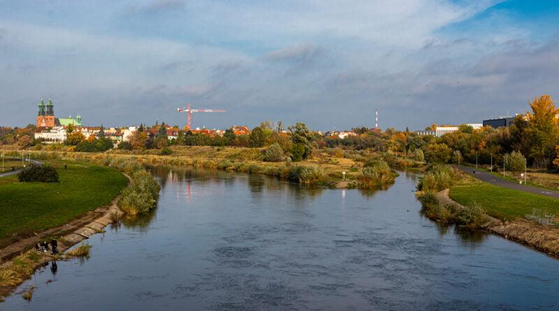 Rzeka Warta Poznań fot. Sławek Wąchała