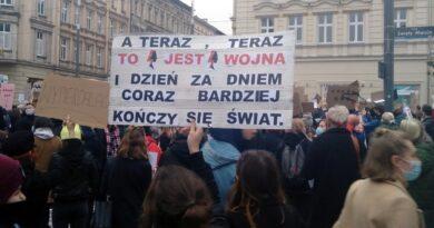 poznanska blokada techno 7 390x205 - Poznań: Strajk Kobiet zablokuje ulice