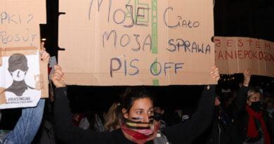Protest Kobiet 26.10 fot. Sławek Wąchała