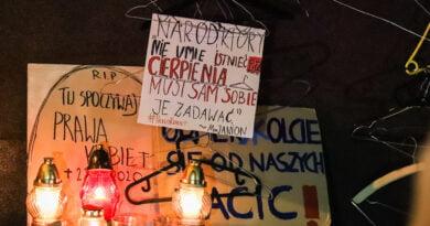 Protest przeciwko decyzji Trybunału Konstytucyjnego 22.X.2020 fot. Sławek Wąchała
