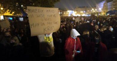 protest przeciwko wyrokowi TK