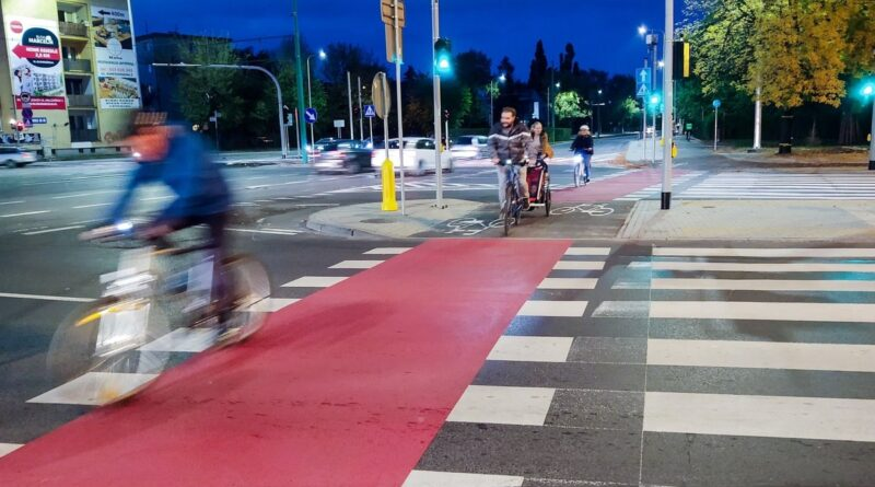 Rowerowa Trasa Grunwaldzka fot. Rowerowy Poznań
