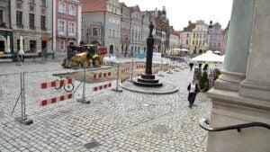 stary rynek prace fot. ump 3 300x169 - Poznań: Wjeżdża palownica, czyli rozpoczynają się prace na Starym Rynku