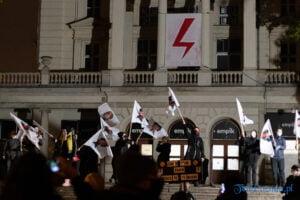 strajk kobiet poznan 31.10 fot. slawek wachala 0112 300x200 - Poznań: Dziewiąty dzień Strajku Kobiet