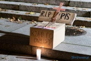 strajk kobiet poznan 31.10 fot. slawek wachala 0115 300x200 - Poznań: Dziewiąty dzień Strajku Kobiet