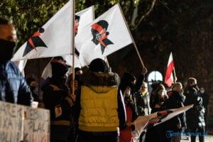 strajk kobiet poznan 31.10 fot. slawek wachala 0119 300x200 - Poznań: Dziewiąty dzień Strajku Kobiet