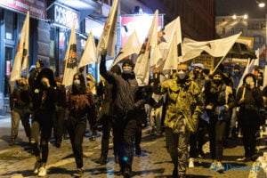 strajk kobiet poznan 31.10 fot. slawek wachala 0168 300x200 - Poznań: Dziewiąty dzień Strajku Kobiet
