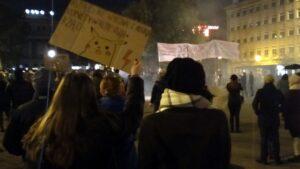 strajk kobiet savita  300x169 - Poznań: Strajk Kobiet wspominał kobiety zmarłe z powodu zakazu aborcji