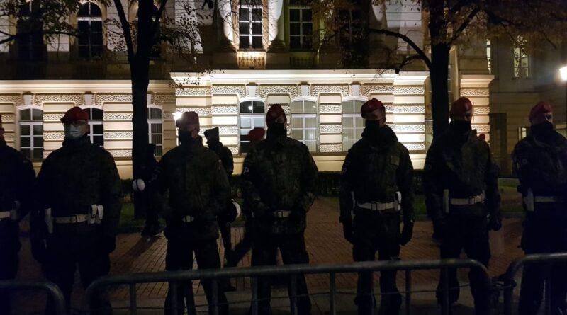 Strajk Kobiet Warszawa fot. M. Tracz FB