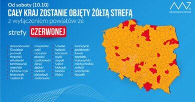 strefy czerwona i żółta fot. Ministerstwo Zdrowia