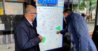 System Informacji Pasażerskiej AMS fot. UMP