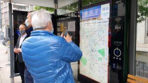 system informacji pasazerskiej ams fot. ump3 300x169 - Poznań: Gdzie jest tramwaj lub autobus? System ci powie!