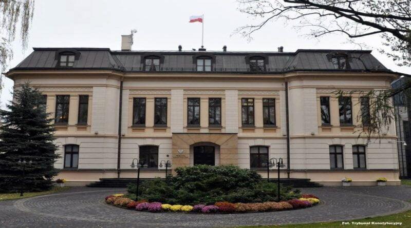 Trybunał Konstytucyjny fot. Sejm RP