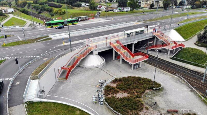 wiadukt nad PST Szymanowskiego fot. PIM