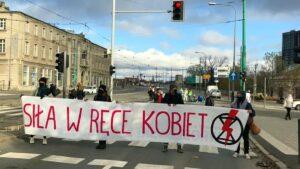 Extinction Rebellion protest Głogowska fot. Extinction Rebellion
