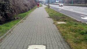 hetmanska fot. zdm 2 300x169 - Poznań: Uwaga na Hetmańskiej! Remont ciągu pieszo - rowerowego