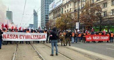 Marsz Niepodległości fot. Młodzież Wszechpolska