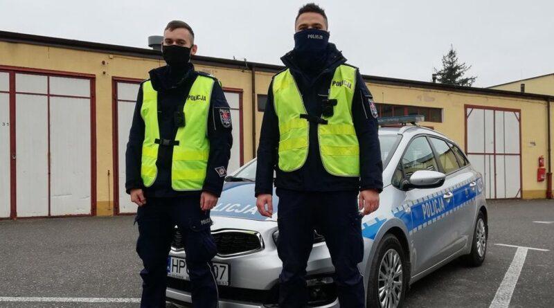 policjanci fot. policja Konin