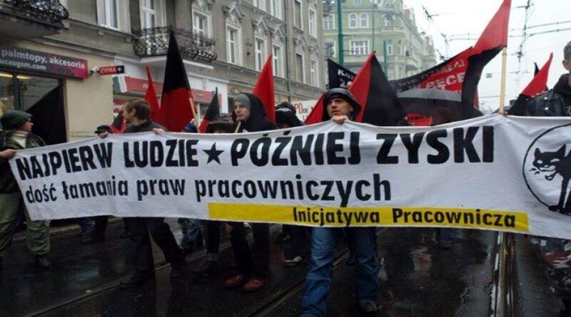 protest pracowniczy fot. OZZ Inicjatywa Pracownicza