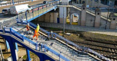 schody na Most Dworcowy fot. PIM